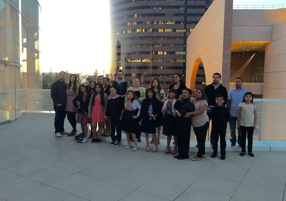 """Breakthrough Attends """"Midori & The Planets"""" at The Segerstrom Center"""