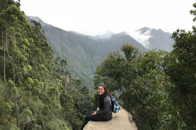 BT College Student Lidia Lopez Returns from Student Teaching in India